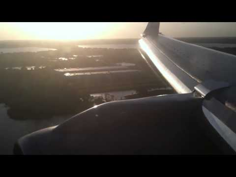 American Airlines 1748 Miami-Orlando Boeing 757-200 Landing