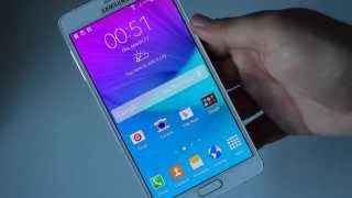 Abriendo Unboxing Galaxy Note 4 Espanol Argentina