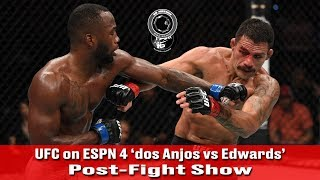 UFC on ESPN 4 'Rafael dos Anjos vs Leon Edwards' Post-Fight Show