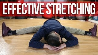 How To Stretch Effectively | Get Flexible In Less Time Without Pain