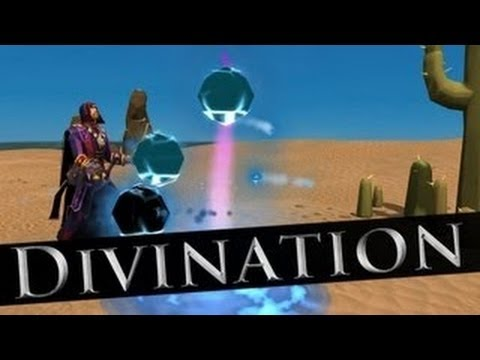 Runescape New skill Divination: Guide and Review with Commentary