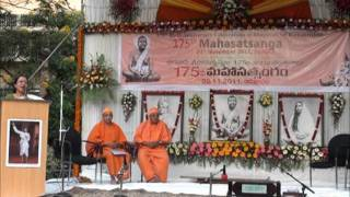 Dr Sumita Roy summing up the journey of the 175 Satsangas