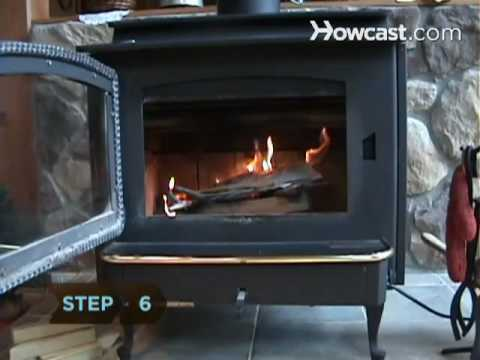 How To Start A Fire In A Fireplace Youtube