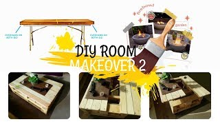 How To Makeover Your Room 2: Multi-functional Coffee Table, etc,