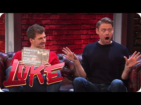 News parodieren mit Max Giermann - LUKE! Die Woche und ich   SAT.1