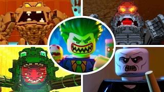 The LEGO Batman Movie - All Boss Fights (LEGO Dimensions)