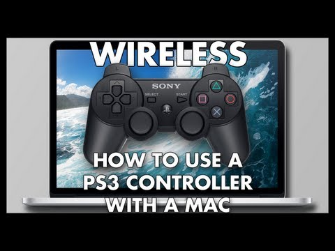 How To Use A PS3 Controller With A Mac (WIRELESS)