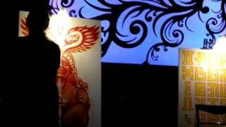 Alex Grey In Mexico party(1)