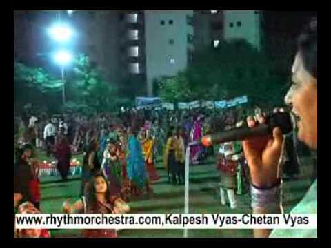 Mathe Matukadi Navratri Garba by Rhythm Orchestra of Kalpesh...