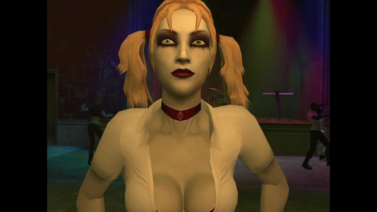 Jeanette vampire the masquerade nude art nackt scene