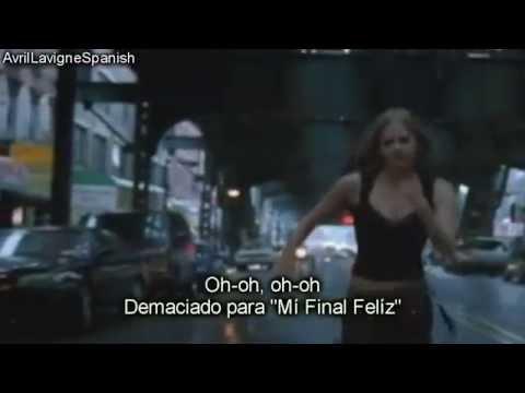 Avril Lavigne - My Happy Ending [subtitulada Español]hd-vevo video