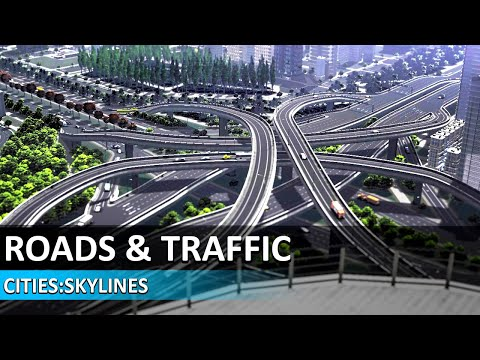Cities Skylines Tutorial #3 - Roads, Intersections & Traffic - Cities Skylines Beginners Guide