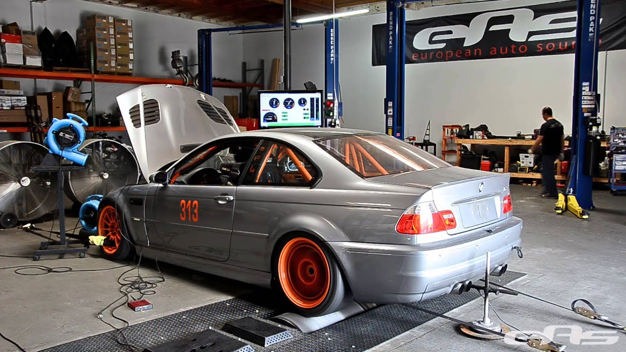 Ess Vt2 550 Supercharged E46 M3 Race Car Dyno Youtube
