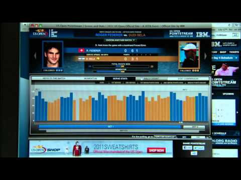 IBM PointStream at the US Open