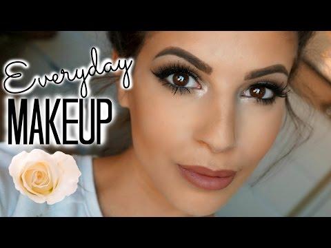 Everyday Drugstore Makeup Tutorial 2015 #3