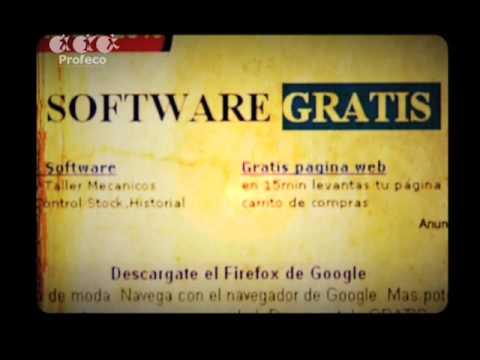 ProfecoTV 12.2 Reporte Especial: Software libre y gratis