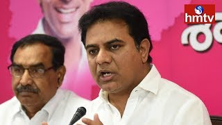 KTR Speaks To Media After Victory In Telangana Elections | hmtv