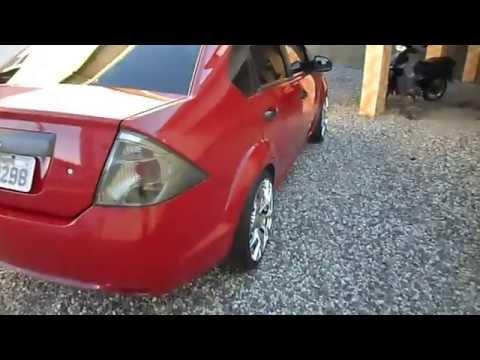 fiesta sedan vermelho aro 17