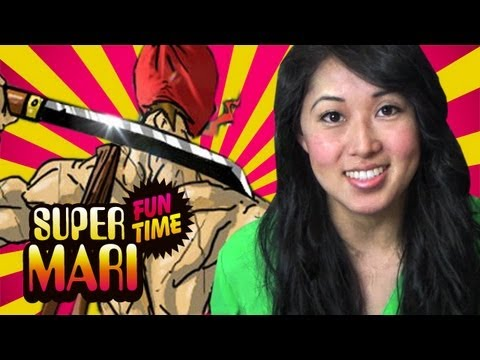 MARI IS A MILK NINJA (Super Mari Fun Time)