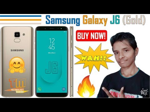 Samsung Galaxy J6 (Gold) Full Phone Specifications | Price, Reviews, Specs & Features