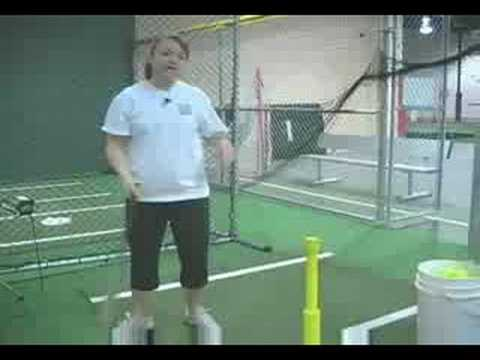 Slap Hitting with Softball Coach Crissy Rapp