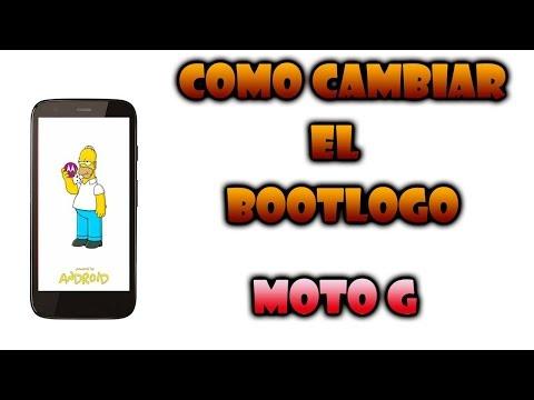Moto g: Como cambiar. personalizar el bootlogo de inicio (Requiere root)