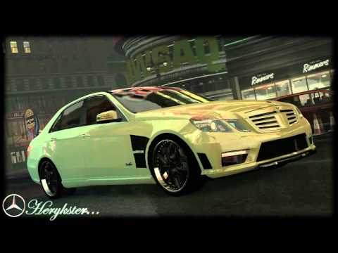 GTA 4 Mercedes Benz B63 S Brabus. SL 65 2007. E500 Coupe.