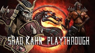 Mortal Kombat 9 - Shao Kahn on Expert