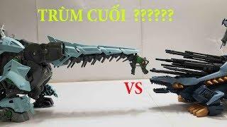 Zoids đồ chơi Thú Vương Đại Chiến son of mad thunder vs Glaciosaurus