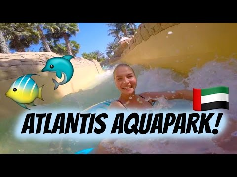 ATLANTIS AQUAPARK! - Dubai Vlogs!   AnKat