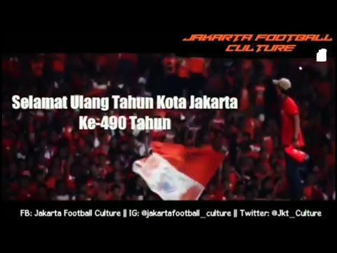 Ultah Jakarta yang ke-490 football culture (persija)
