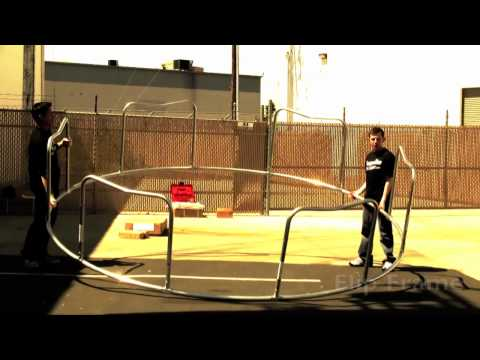 sportspower trampoline net instructions