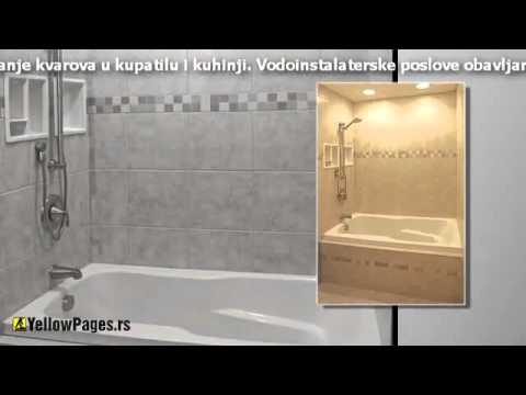 Renoviranje kupatila i vodoinstalaterski radovi