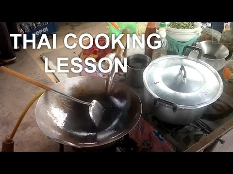 Bangkok Living & Travel - Thai Cooking Lesson at a Neighborhood Temple