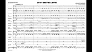 Don 39 T Stop Believin 39 Arranged By Jay Bocook