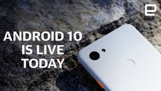 Android 10 is live on Google's Pixel phones today