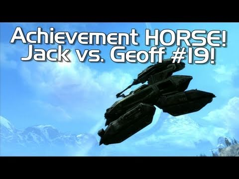 Halo: Reach - Achievement HORSE #19 (Annoying Geoff vs. Excellent Jack!)