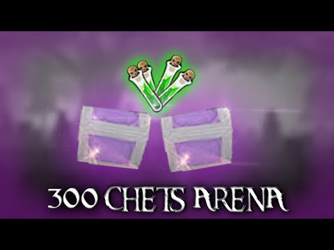 OPENING 300 ARENA CHEST -  ARCANE LEGENDS