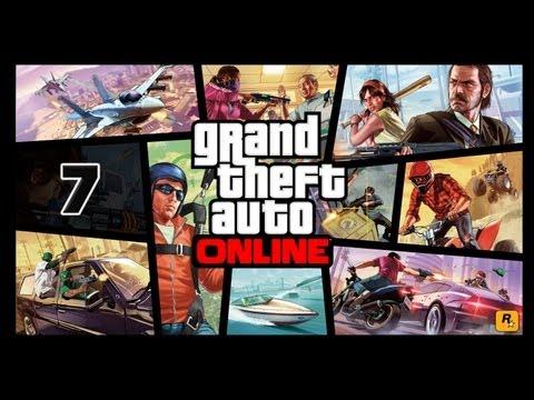 Прохождение Grand Theft Auto 5 Online (GTA V Online) — Часть 7: Воздушная перестрелка