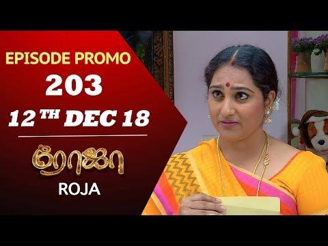 ROJA Serial | Episode 203 |  ரோஜா | Priyanka | Sibbu Suren | Saregama TVShows Tamil