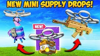 THE MINI SUPPLY DROPS ARE EPIC! - Fortnite Funny Fails and WTF Moments! #565