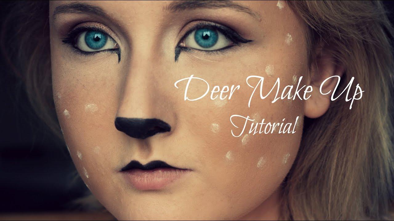 Deer / Fawn Cosplay Make-Up Tutorial English/HD - YouTube