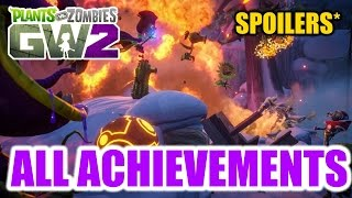 Plants vs Zombies Garden Warfare 2 - All Achievements (SPOILERS)