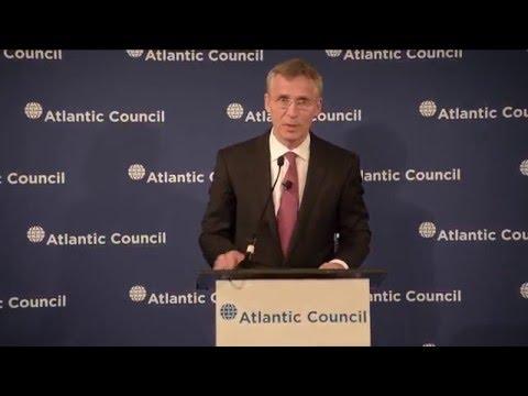 NATO Secretary General at Atlantic Council, 6 Apr. 2016