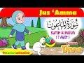 QS. AL MA'UN   Mengaji Juz Amma bersama Diva   Kastari Animation Official HD