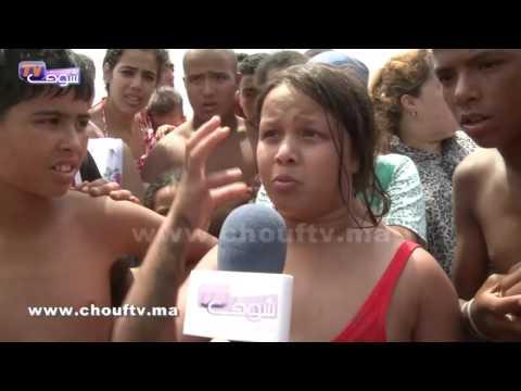 الطفلة التي اكتشفت جثة الشاب الذي لفظته مياه البحر بعين الذياب .. شوفو أشنو قالت | شوف تيفي #1