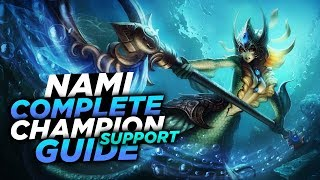 HAVE A DRINK! - SEASON 8 NAMI GUIDE! - League of Legends