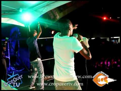 Lil Rick and Undadawg Performing At Brewster's Road Crew Torch Fete - Crop Over 2012