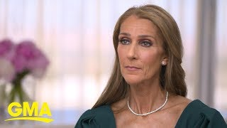 Celine Dion shares advice for those grieving after her husband's death | GMA