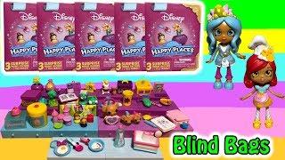 Disney Shopkins Happy Places Blind Boxes Season 2 Belle Rapunzel Minnie Mouse Cinderella